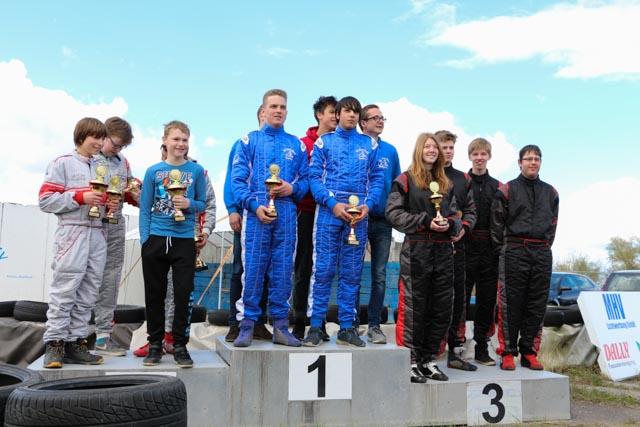 Die Mannschaft Land Hadeln 1 auf dem dritten Platz