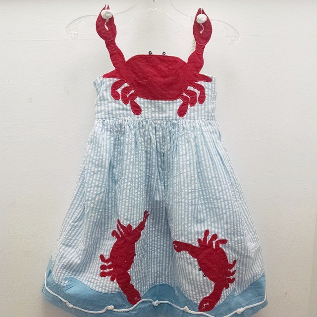 Crab Dress....our best seller!