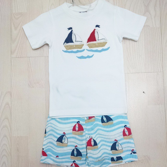 Sailboat Tee & Shorts