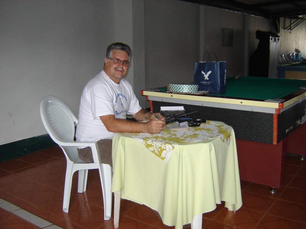 Mesa da Diretoria.