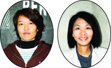 写真=(左)川井裕美さん、(右)南風盛直子さん