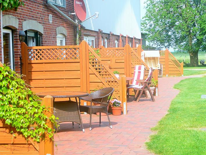 Ferienwohnungen auf dem Ferienhof Jacobs nahe St. Peter Ording