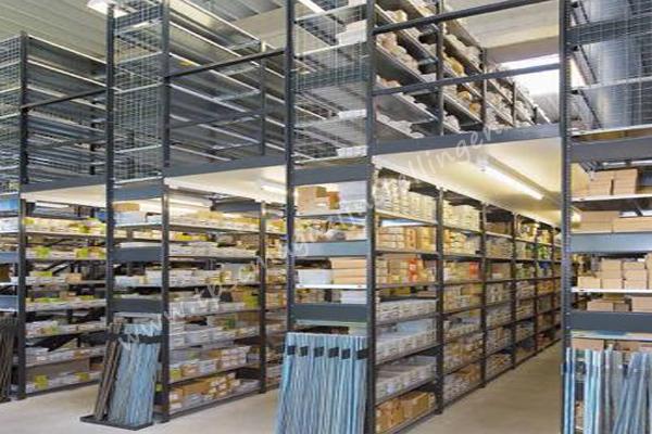 meervoudige etagevloeren legbordstellingen