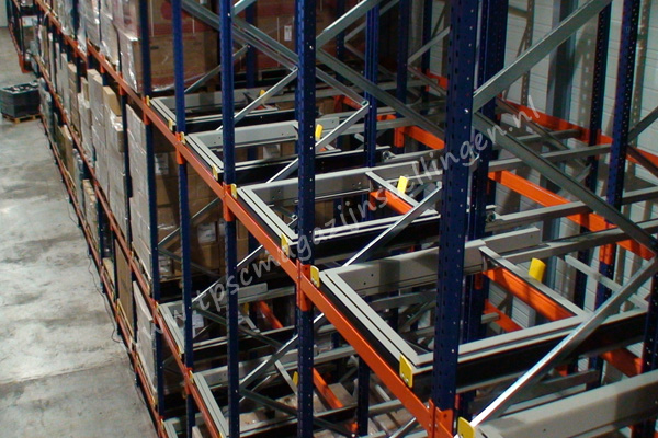 Kimer push back palletstellingen