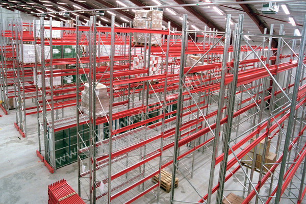TPSC magazijnstellingen Palletstellingen