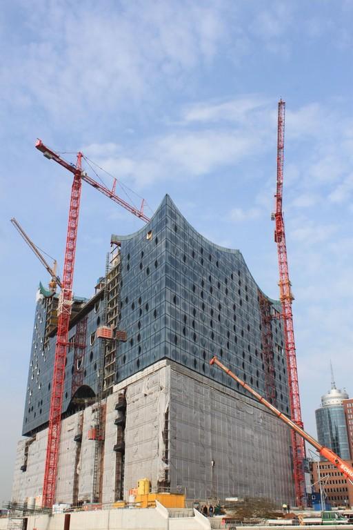 Bau der Elbphilharmonie