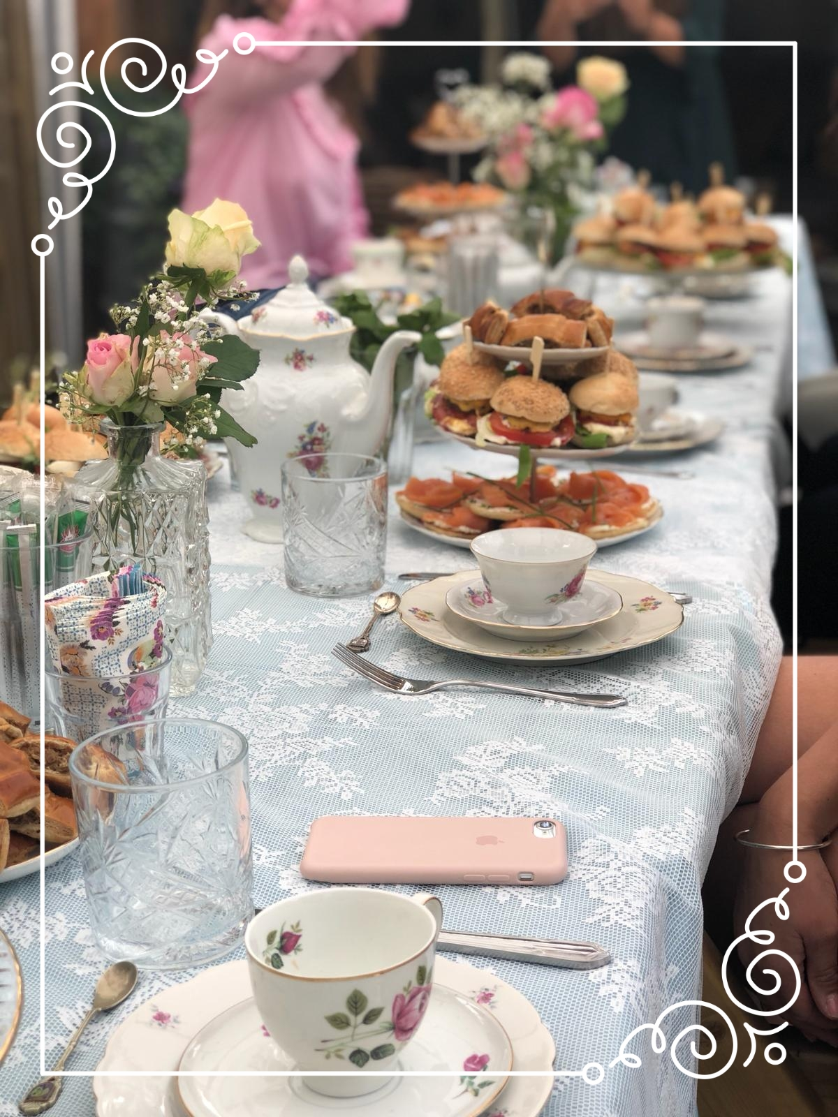 High Tea Tuinfeest