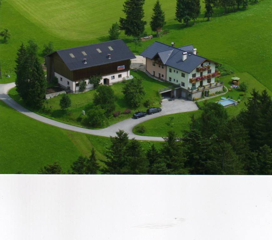 Biohof Haus Wieser, Abtenau, Salzburg Land, Flugaufnahme
