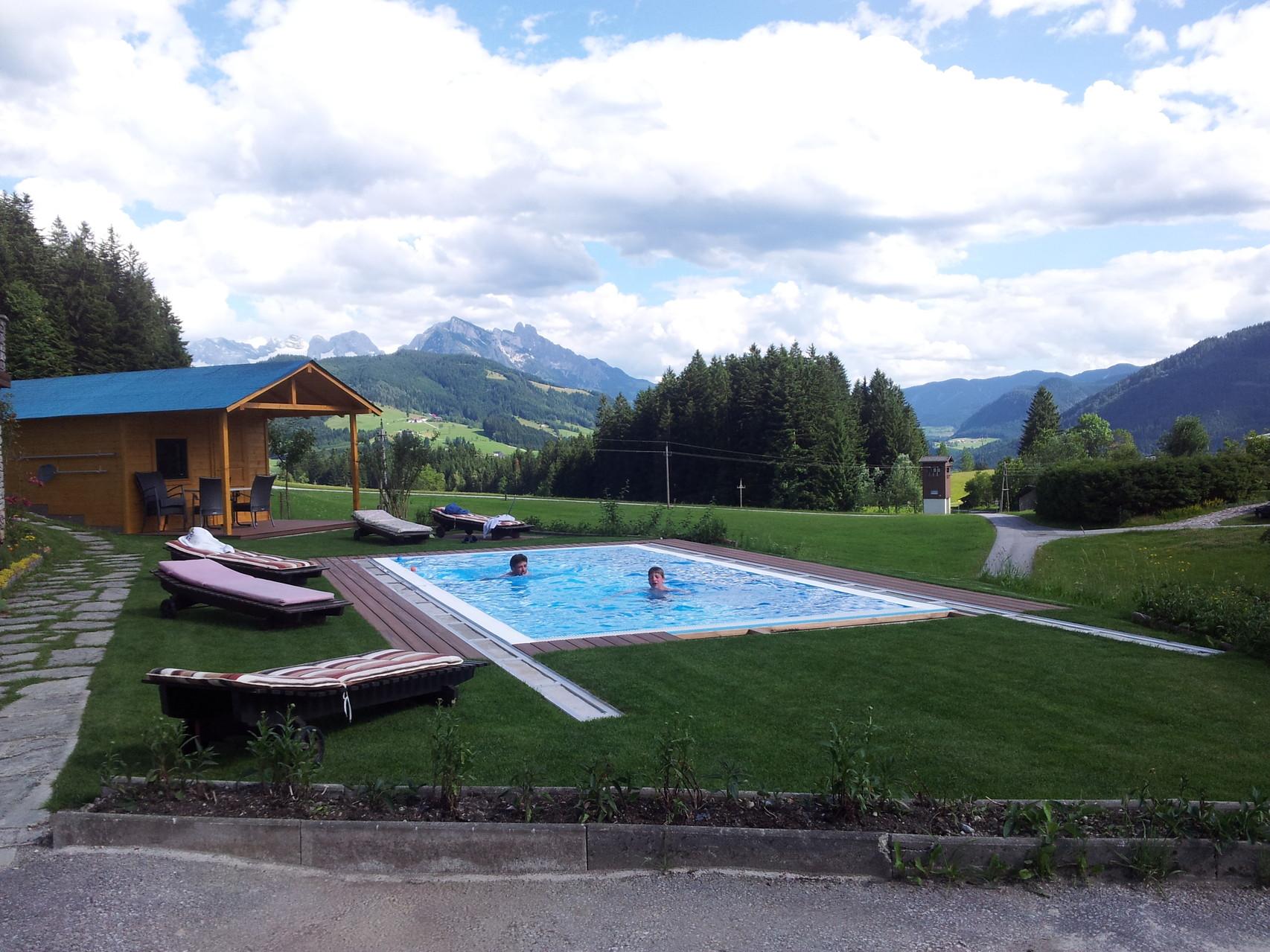 Biohof haus Wieser, Abtenau, Salzburg Land, Schwimmbad - neu