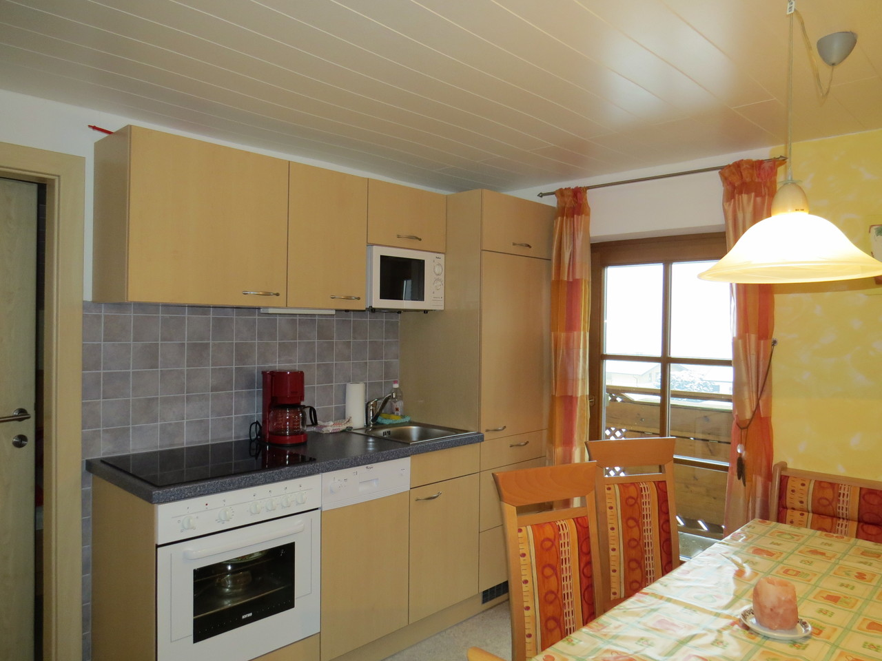 Biohof Haus Wieser, Apartment 5-8 Personen Wohnkücke