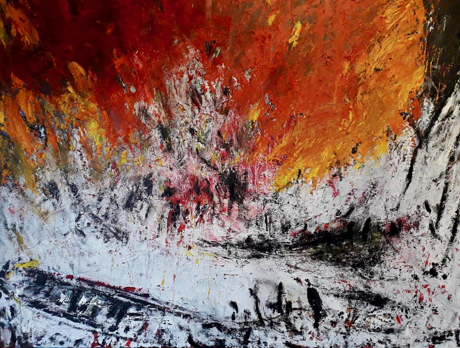 Pompei, Öl, 80 x 100cm