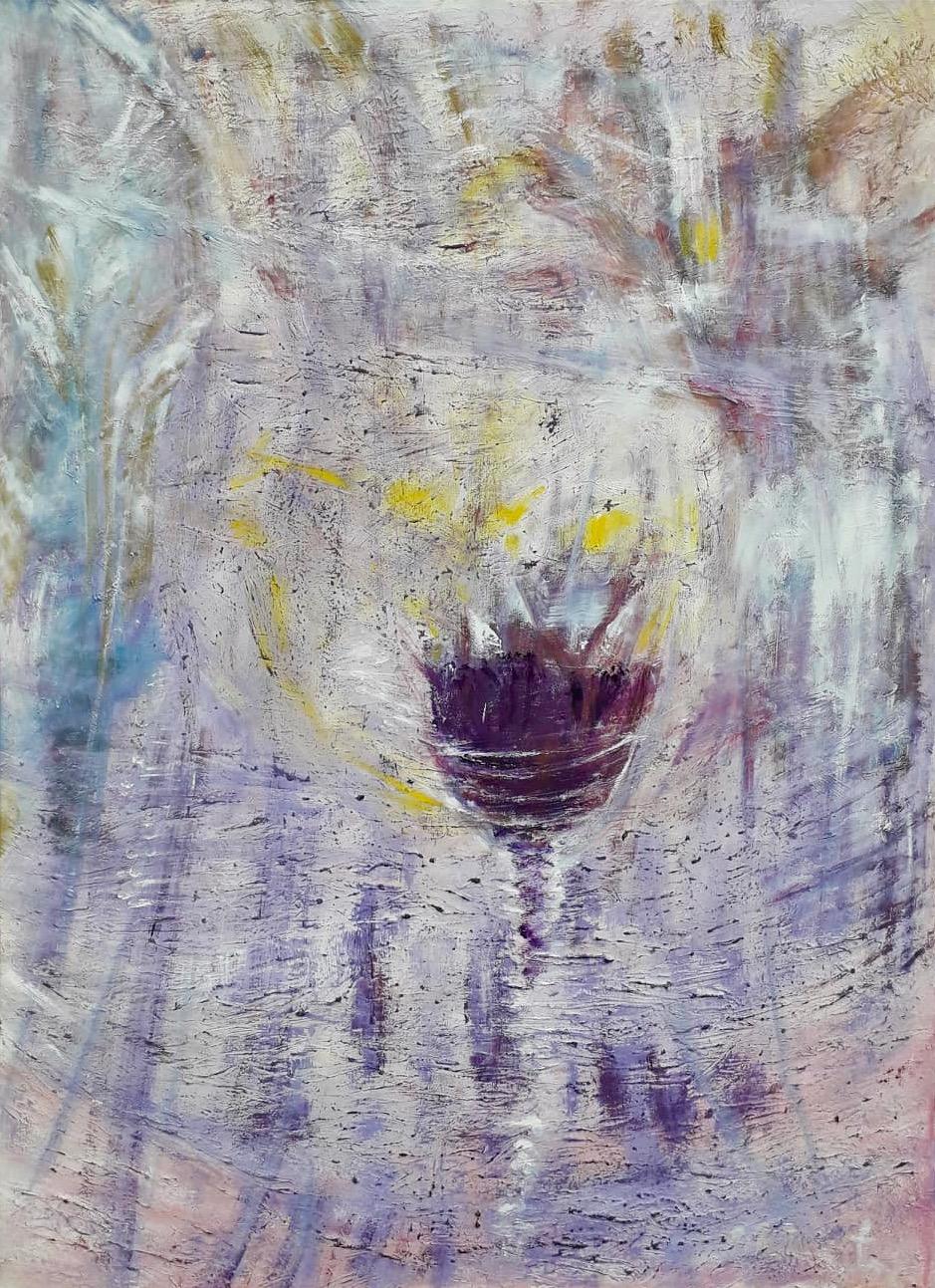 Gral, Öl, 100 x 80cm