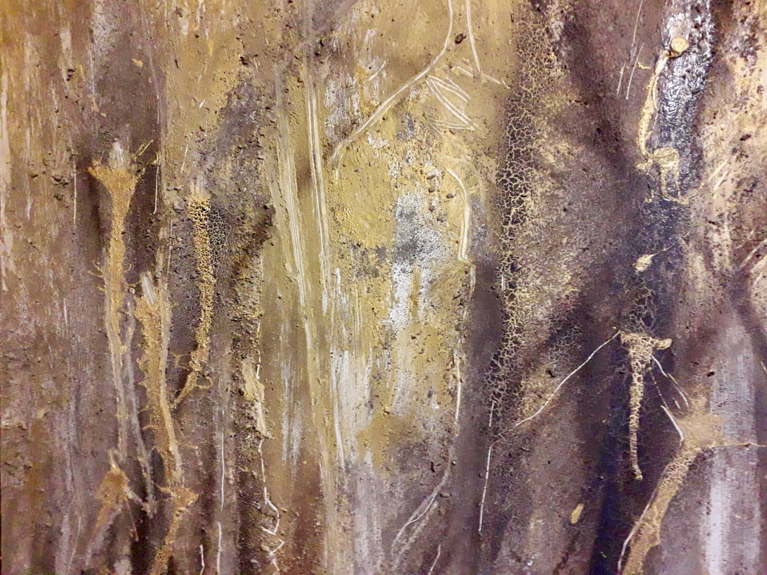 Waldgeister, Acryl Mischtechnik, 100 x 100cm