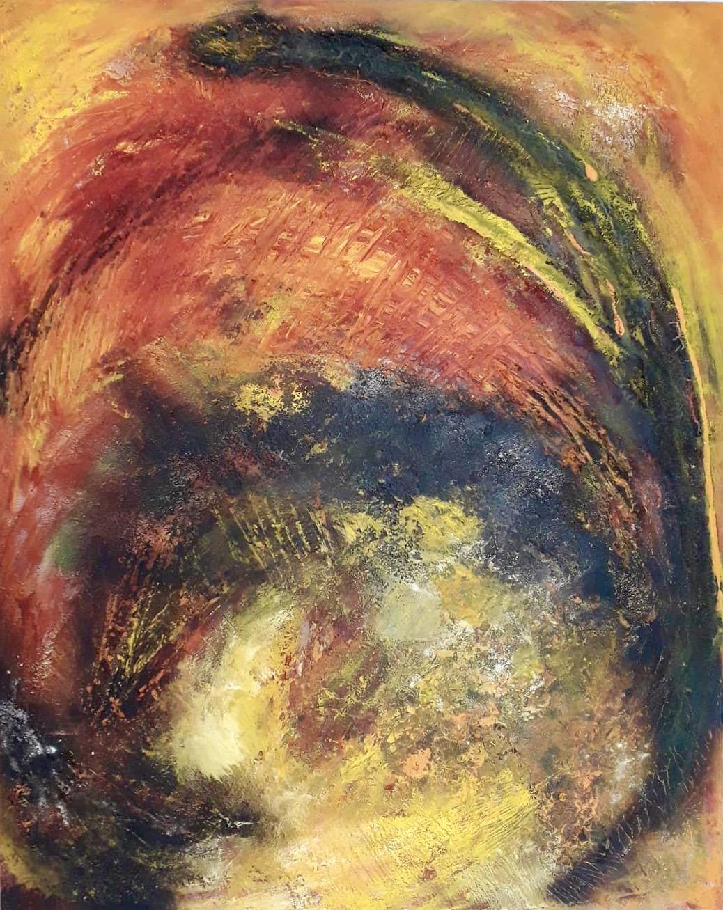 Energie, Acryl Mischtechnik, 100 x 80cm