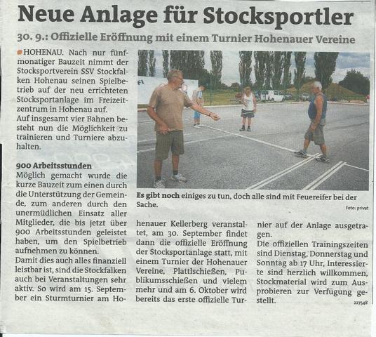 Bezirksblatt August 2012