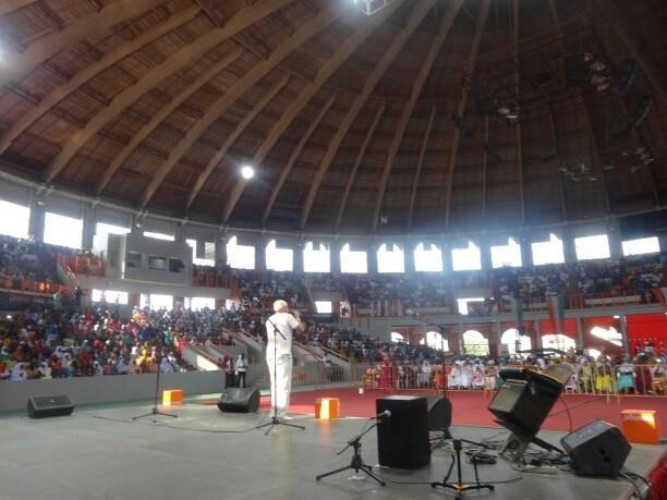 Abdijan août 2014 concert hommage à la femme