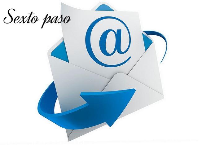 Información de la llegada del producto a la casilla del cliente (detalles de envíos y otros)