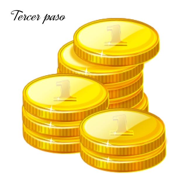 Realizar recarga de Coins del valor del producto solicitado (recarga minima 1,000 coins)