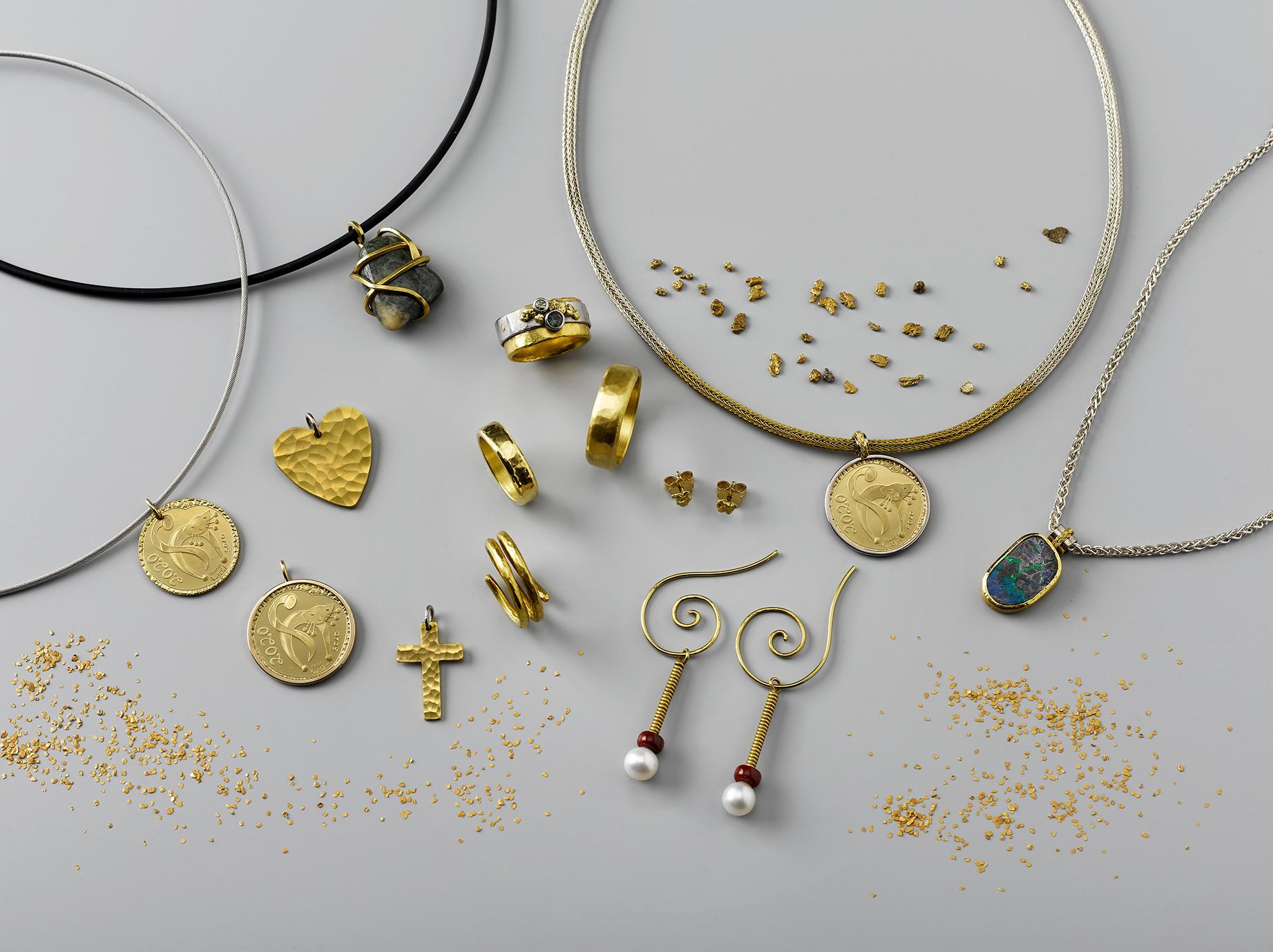Auszug aus dem Schweizer Naturgoldprodukte Sortiment