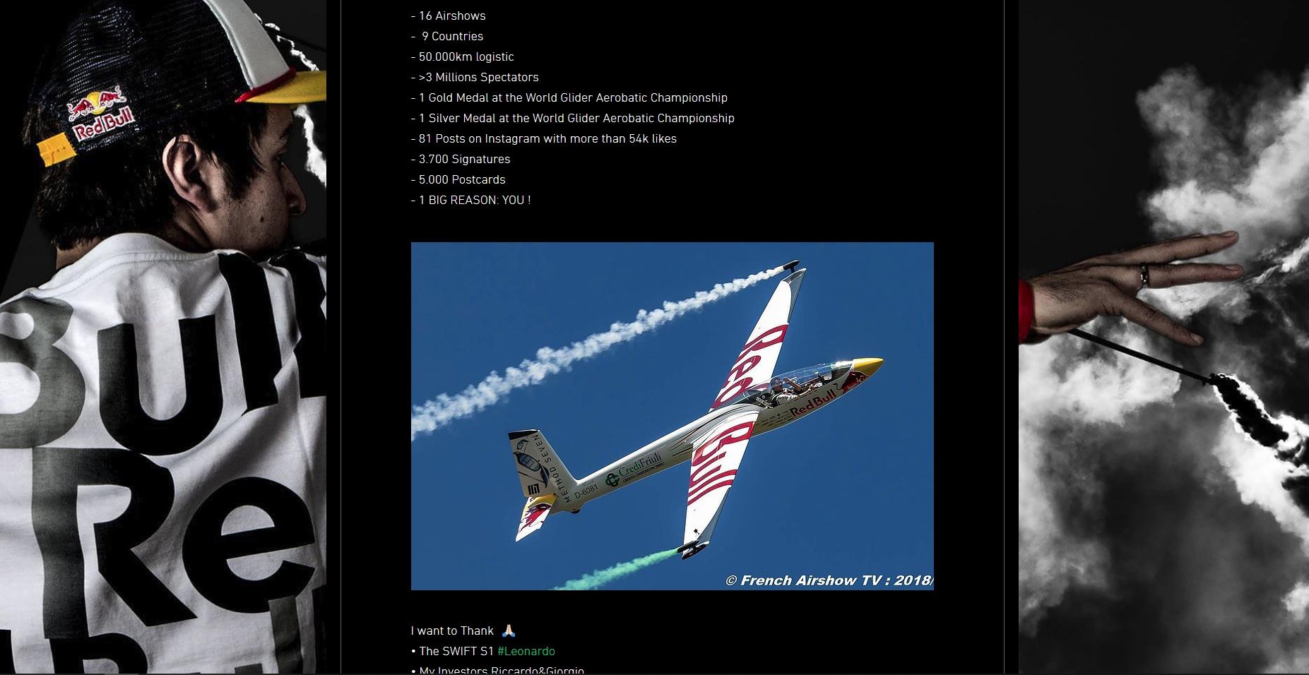 Red Bull X Glider Team : Luca Bertossio