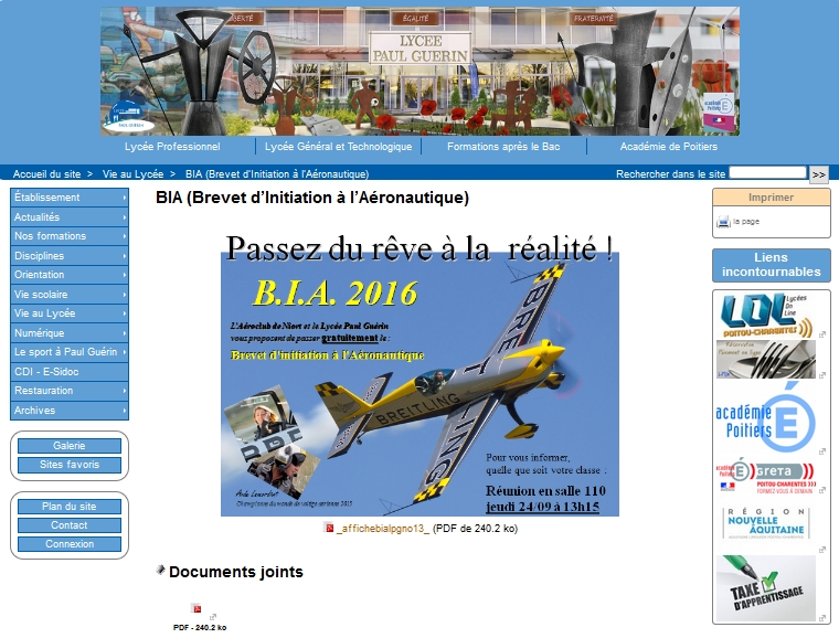B.I.A 2016