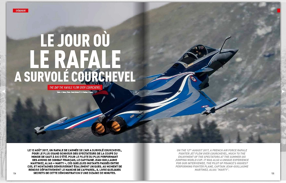 Courchevel - Rafale Solo Display