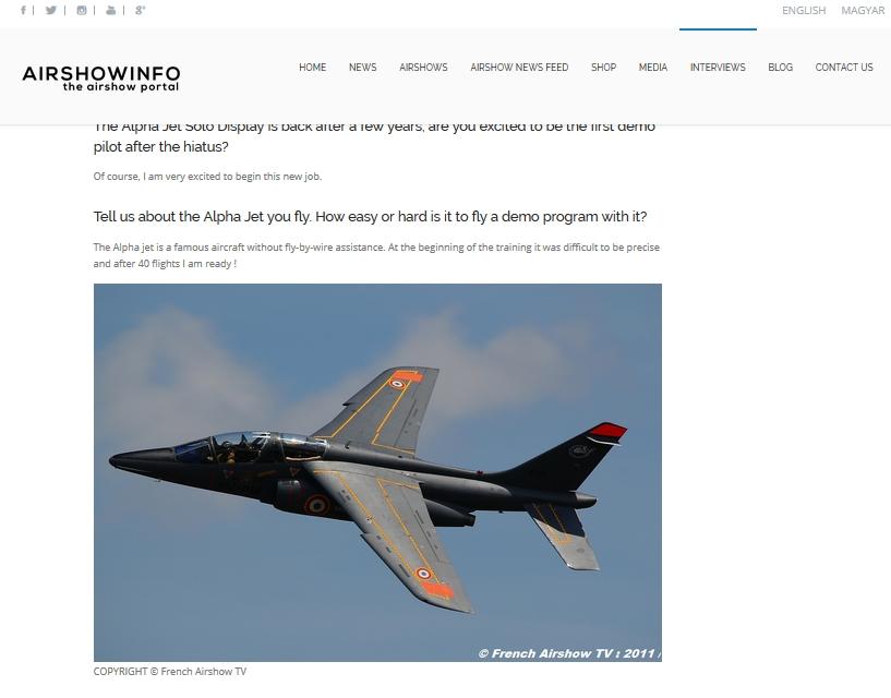 Airshowinfo - Alphajet