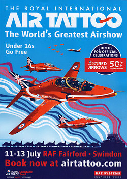 RIAT : Royal International Air Tattoo 2014 Fairford 2014 UK airshow 2014 red arrows 50 years