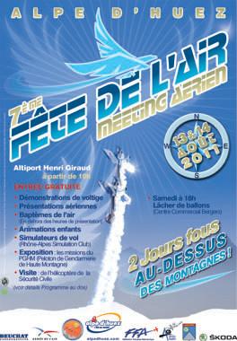 7ème Fête de l'Air Alpe Huez