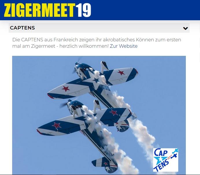 Zigermeet Mollis 2019 : Captens