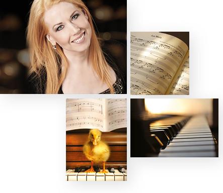 Gesangsunterricht, Klavierunterricht und Sprecherziehung mit Elisabeth Wörmann