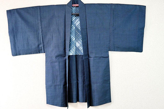 Japanese Haori Jacket for men Source: salz kimono