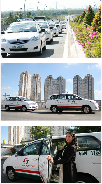 Vinasun taxi Source: Vinasun company official page