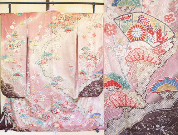 Vintage Kimono. Not easy to get the great quality one Source: Salz Kimono