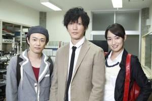 NEO Ultra Q, Seiichi Tanabe (centre) Source: Tsuburaya Production/WOWOW