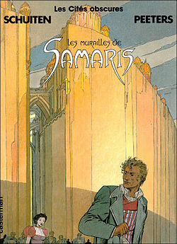 "Cover of Les Murailles de Samaris (""The Great Walls of Samaris"", 1983)"
