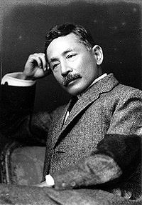 The moderator's grand father, Sosuke Natsume Click this pic for more details