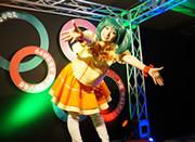 Macross cosplay event Source: Noboru Ishiguro/Kadokawa/Studio Nue/Hirakata Park