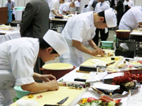 sushi competition in japan and tasting