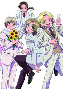 Hetalia World Series DVD-BOX1  Source: Hidekazu Himaruya Gentosha