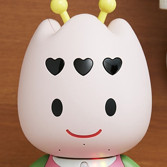 In room robot Turi (Churi) is not well known for its communication skill Source: the hotel's official website