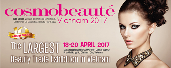 Source: Cosmobeaute Vietnam 出展支援 ブースデザイン、設営、イベント運営