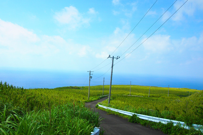 Nature on Aogashima island