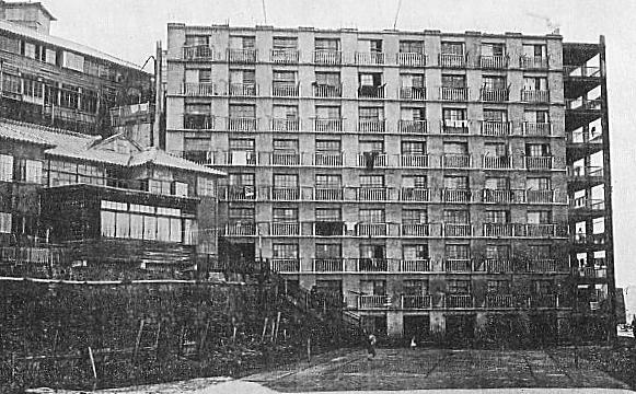 Hashima around 1930s Source: Wikipedia how to get hashima and where to stay