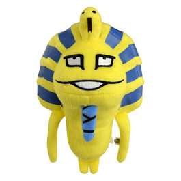Tutankhamun Nameko stuffed toy also available click here to go to the toy site