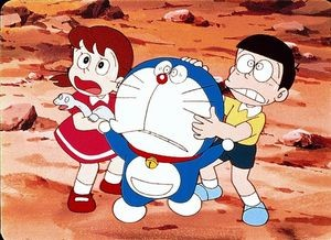 doraemon old face in 1980 difference from today