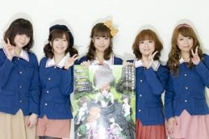 GIRLS und PANZER voice actresses click here to go to the official site Source: GIRLS und PANZER Projekt