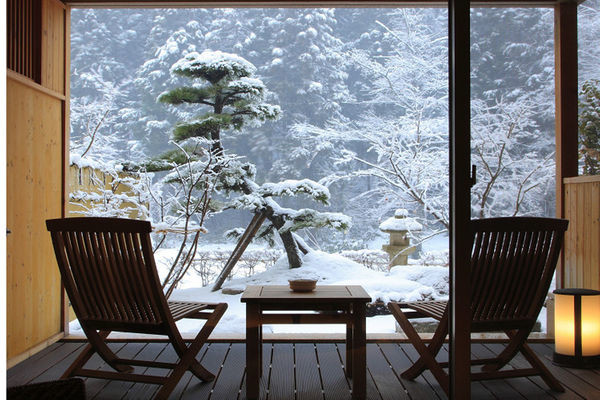 Click to book Yusen Shidate, a ryokan with a private hot spring