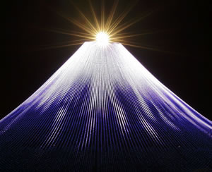 Mt. Fuji illumination Source: Nagashima Land