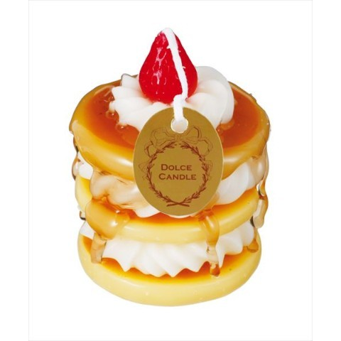 Pan cake looking candle 1026JPY  Source: VVstore